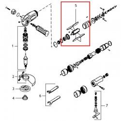 Łopatka wirnika WS 7400 Metabo 3