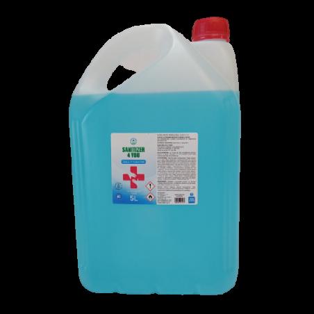 Płyn antybakteryjny do rąk Sanitizer 4 You 5l 70% alkohol gliceryna