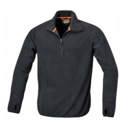 Bluza polarowa lekka czarna 7635N Beta Wip Trading rozmiar XXL