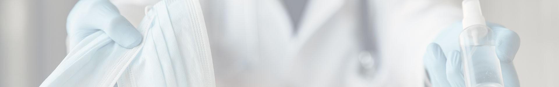 Maseczki antywirusowe wielokrotnego użytku, maseczki z jonami srebra.